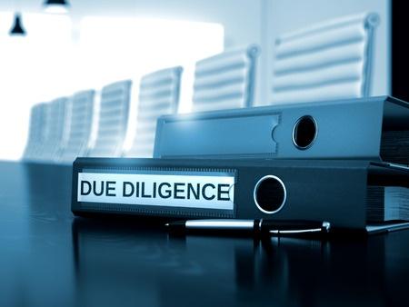 Partner Due Diligence