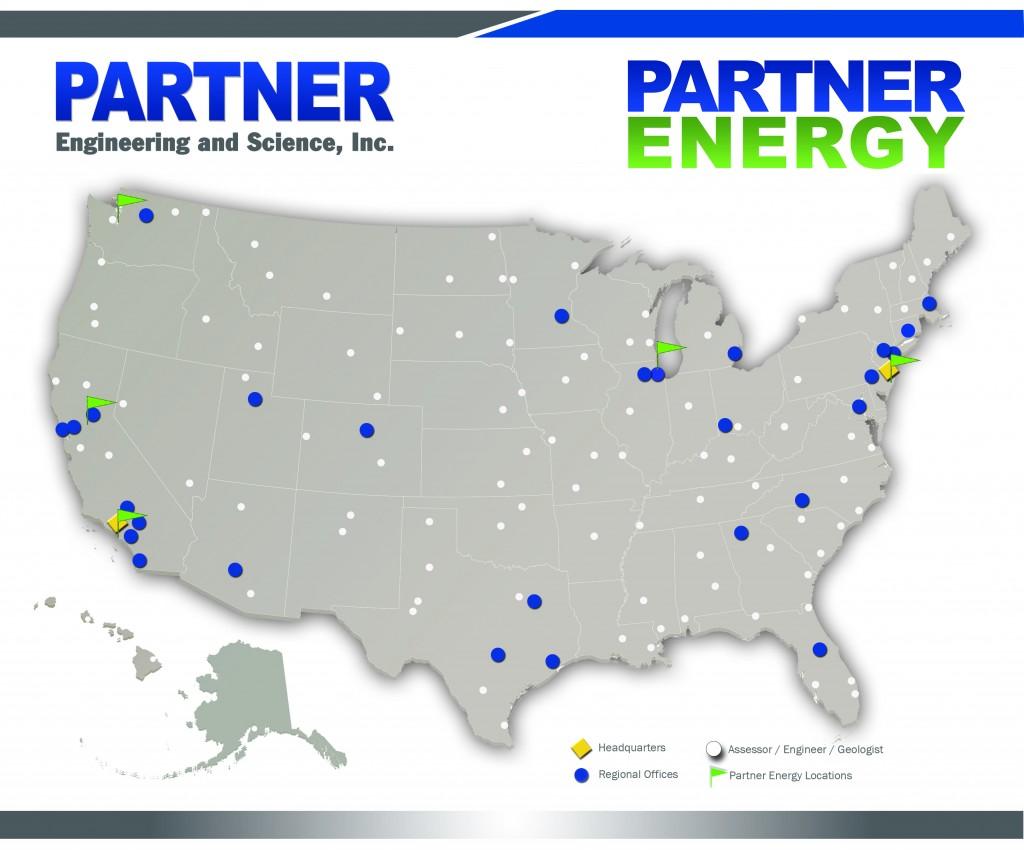 Partner Energy coverage map.