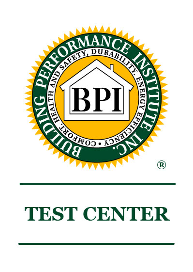 Partner Energy is a certified Building Performance Institute Test Center