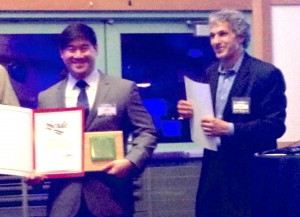 Partner Energy President, Tony Liou, accept Build It Green Award, Thursday, December 10th in Oakland, California.