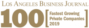 Parner Energy is #36 on LABJ 2019 list of Top 100 Fastest Growing Private Companies