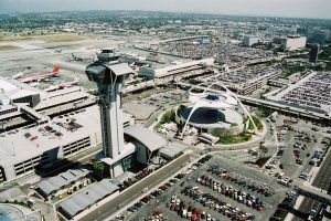 Los Angeles World Airports perspective image from above